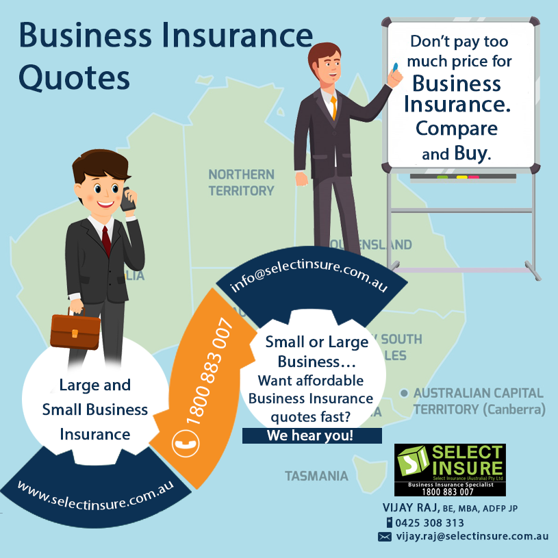 Don't pay too much price for business insurance. Compare