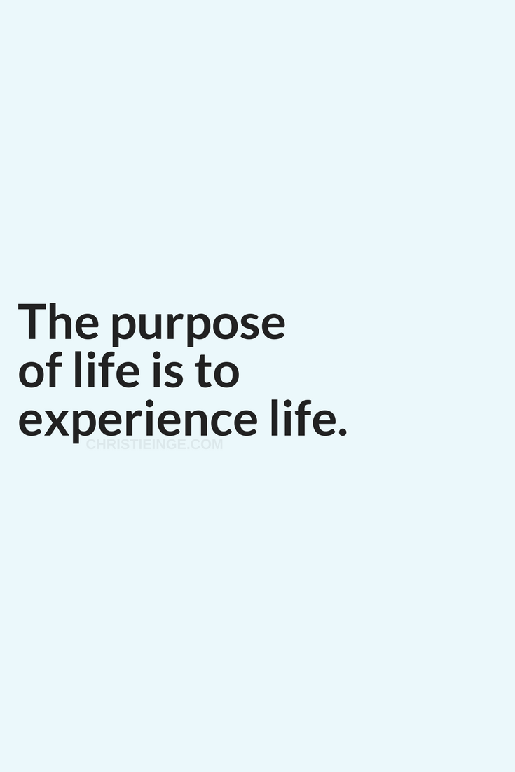 Purpose Quotes Why I Don't Recommend Trying To Find Your Life Purpose  Life