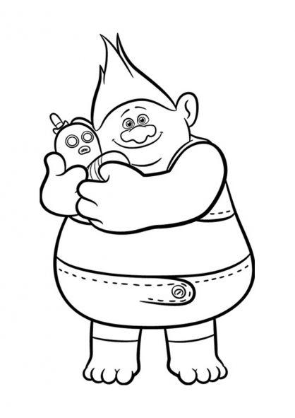 Les Trolls Biggie Et Monsieur Dinkles Poppy Coloring Page Paw Patrol Coloring Disney Coloring Pages