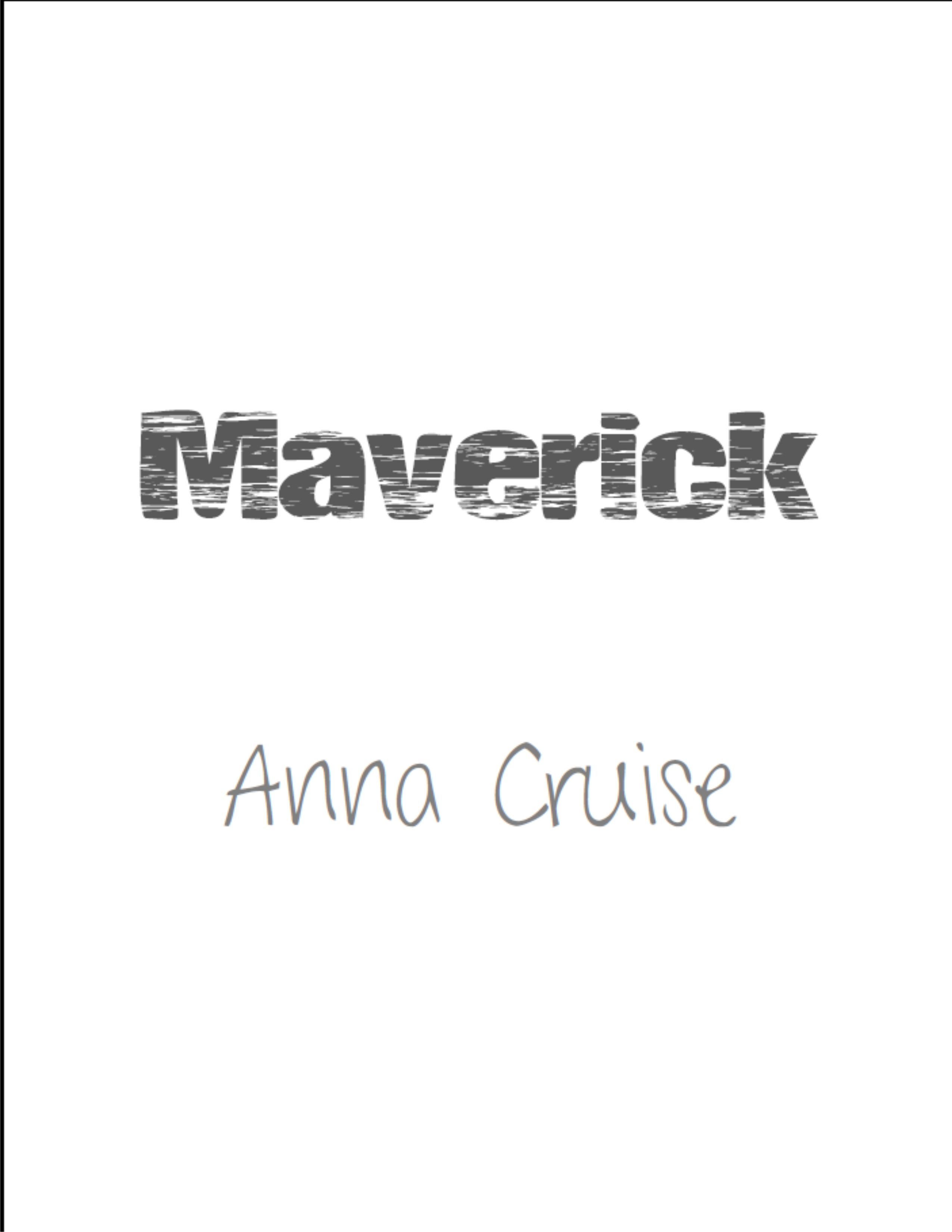 "Half Title Page ""Maverick"" Diseño PB Tech company logos"