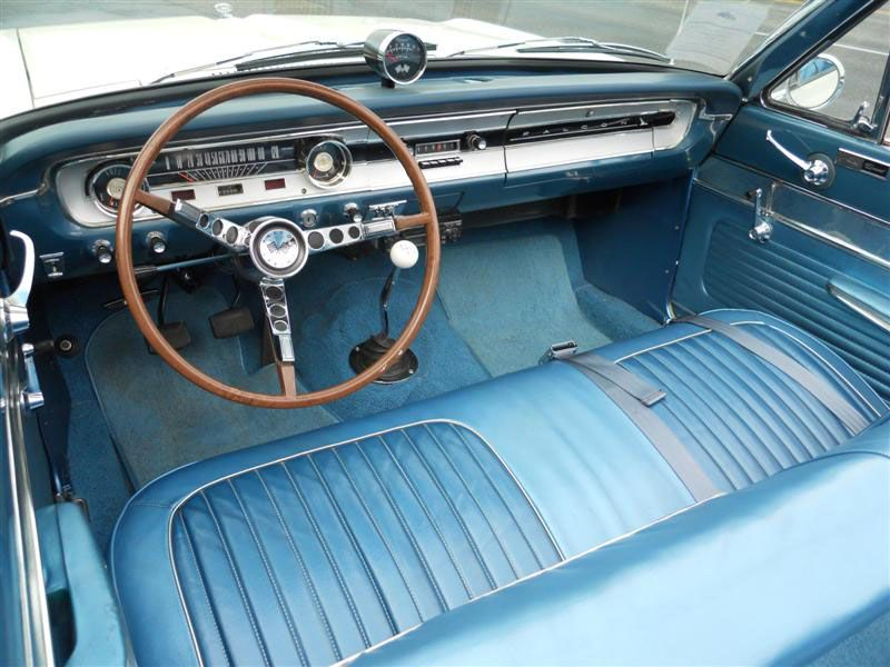 Super Rare 64 Falcon Sprint Convert With A 4 Speed And Bench Seat