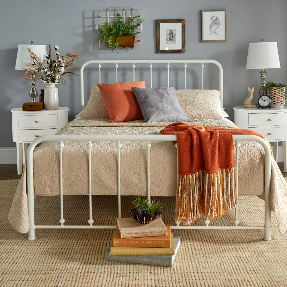 Home (With images) Metal platform bed, Weston home