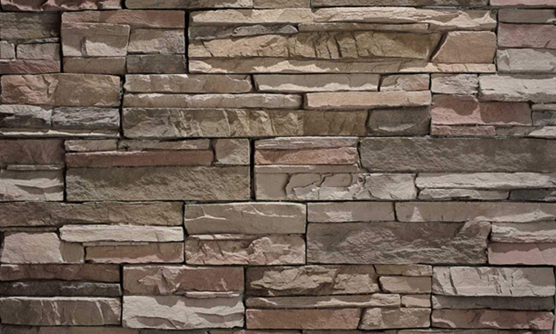 Eldorado Stone Stacked Stone Desert Shadow Wall
