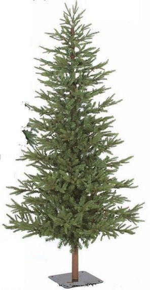 7 5ft X 50in Forest Pine Alpine Unlit Artificial Christmas Tree Unlit Christmas Trees Artificial Christmas Tree Christmas Tree Forest