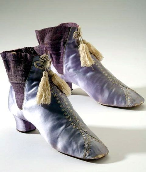 The New 1860s Victorian Boots Mauve Dyed With English Boots Early vxw1xgqF
