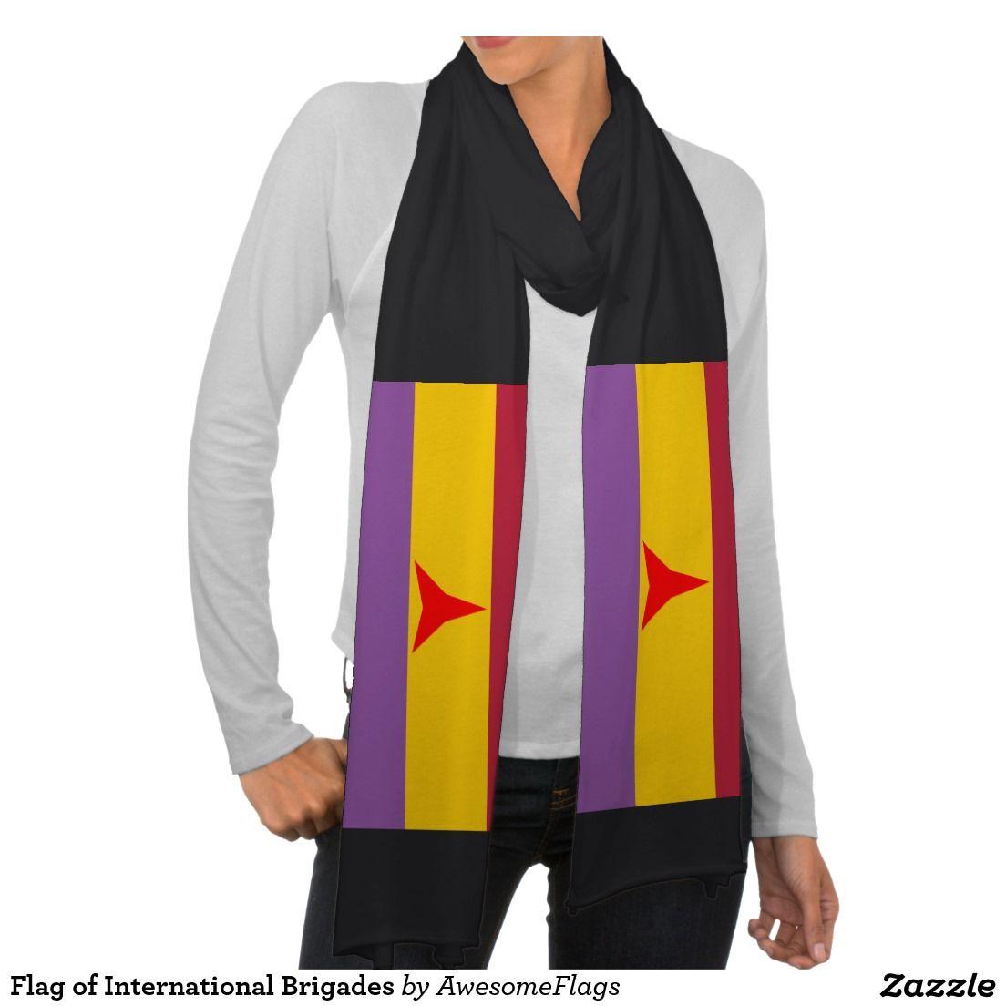 Flag of International Brigades Scarf Wraps
