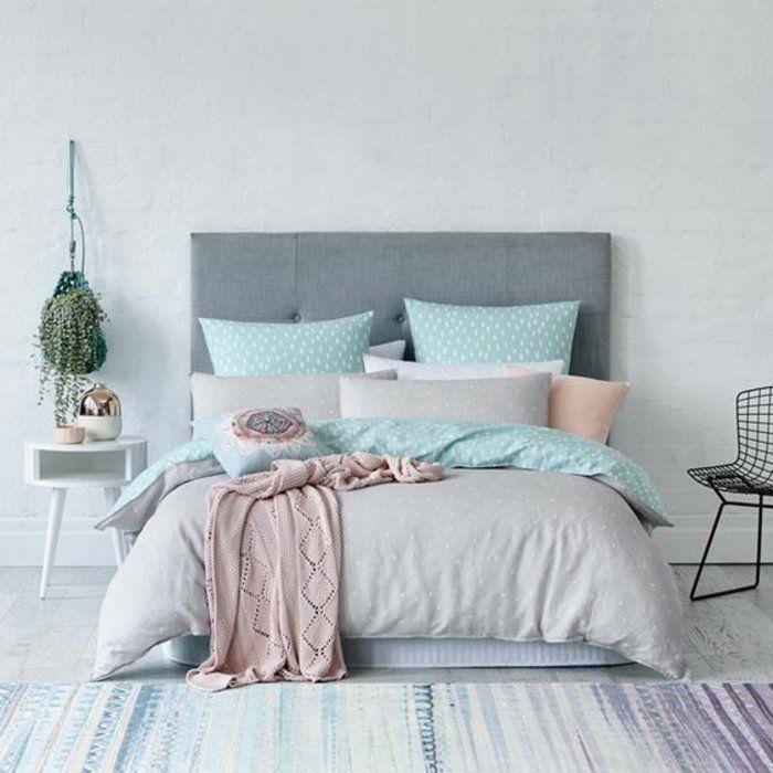 Idées chambre à coucher design en 54 images sur Archzinefr Bedrooms - couleur tendance chambre a coucher