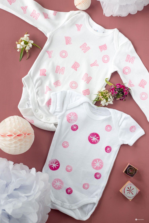 Diy Babybodys Bestempeln 5 Tipps Fur Ein Schones Ergebnis Babyshower Babybody Bodys Body Bemalen