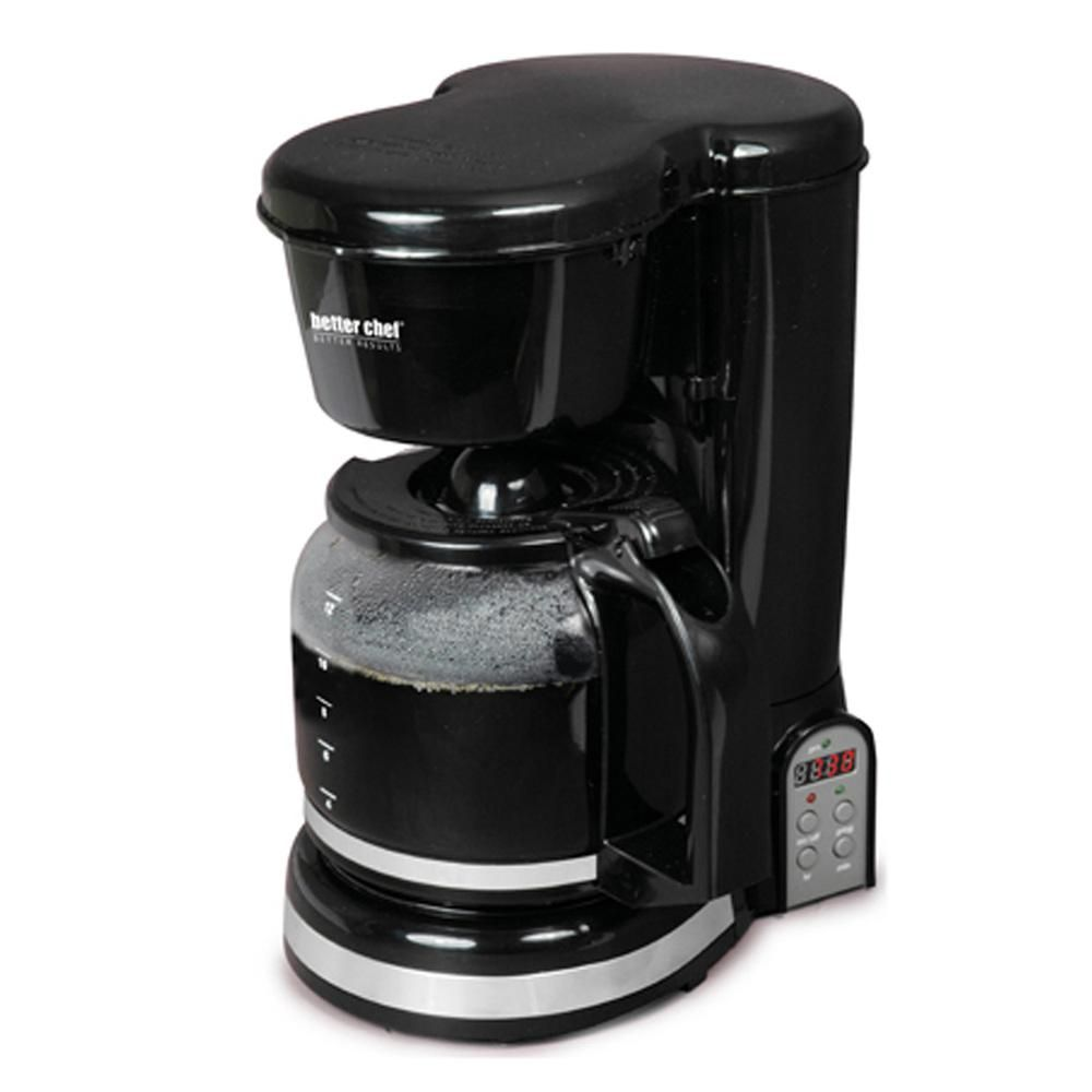 Better chef cup digital programmable coffeemaker coffeemaker