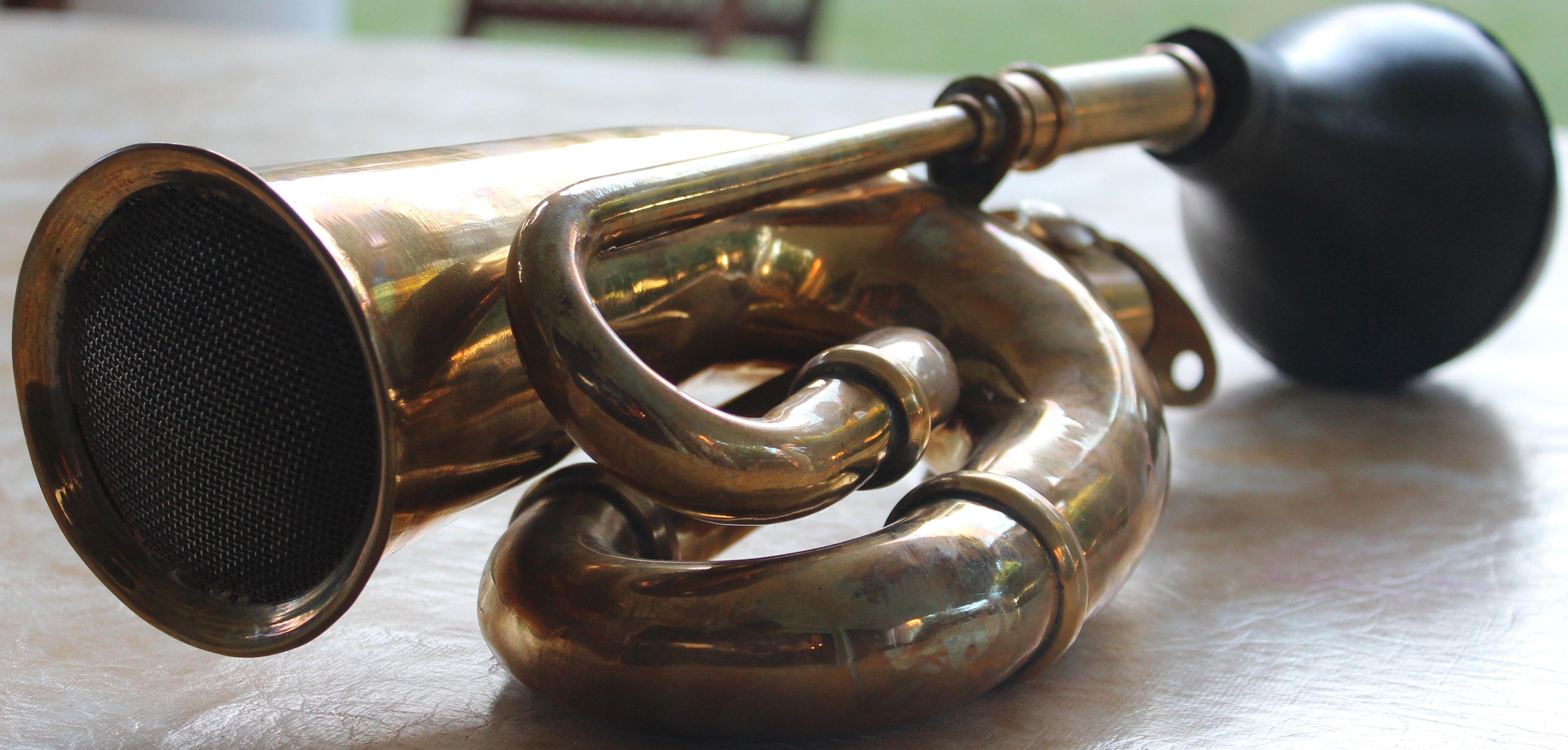 Mancuernas de corneta