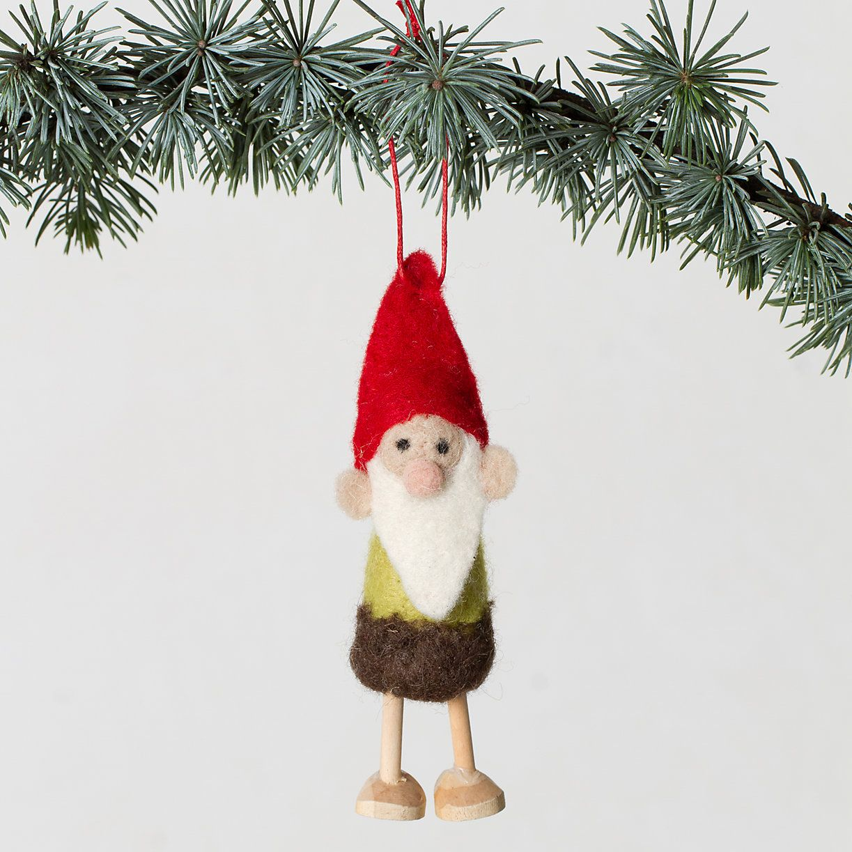 3 Wooly Gnome Ornament In New Shop Holiday At Terrain Christmas Thoughts Ornaments Polar Bear Ornaments