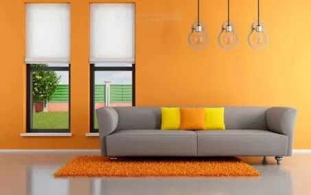 Analogous Color Scheme With Yellow And Orange Yellow Living