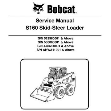 Bobcat Manual Skid Steer Loader Hydraulic Systems Hydraulic Fluid