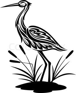 Pocahontas Sky Element Heron Totem Power Animal Estampados