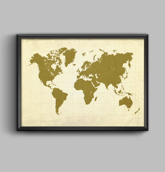 Pdf poster worldmap a0a1a2a3a4 high resolution by pdfposters items similar to pdf poster worldmap high resolution pdf vintage poster design on etsy gumiabroncs Gallery