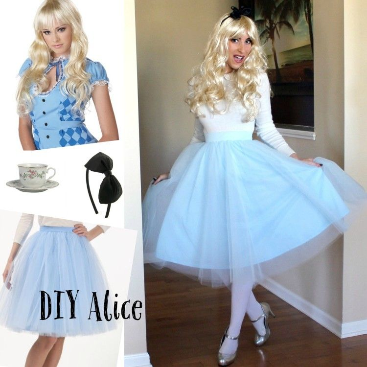 DIY DisneyCostume (Alice In Wonderland Diy Costume