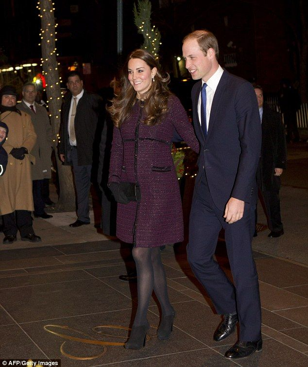 u0027Itu0027s good to be hereu0027 Wills excitedly gushed to door staff as he walked into the hotel hand-in-hand with Kate. u0027  sc 1 st  Pinterest & New York prepares to receive Prince William and Kate | Pinterest ...