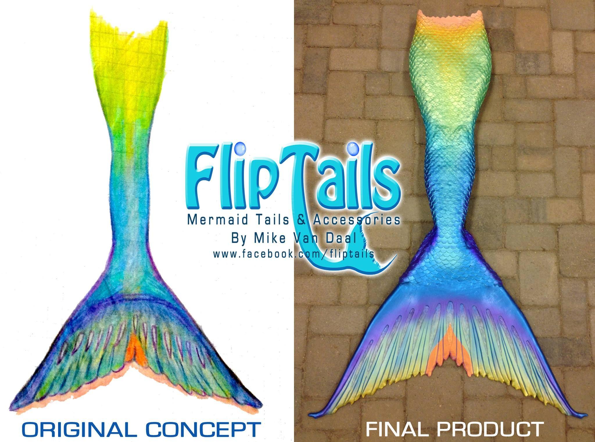 Flip Tails #mermaid #fairytale Mermaid Realistic