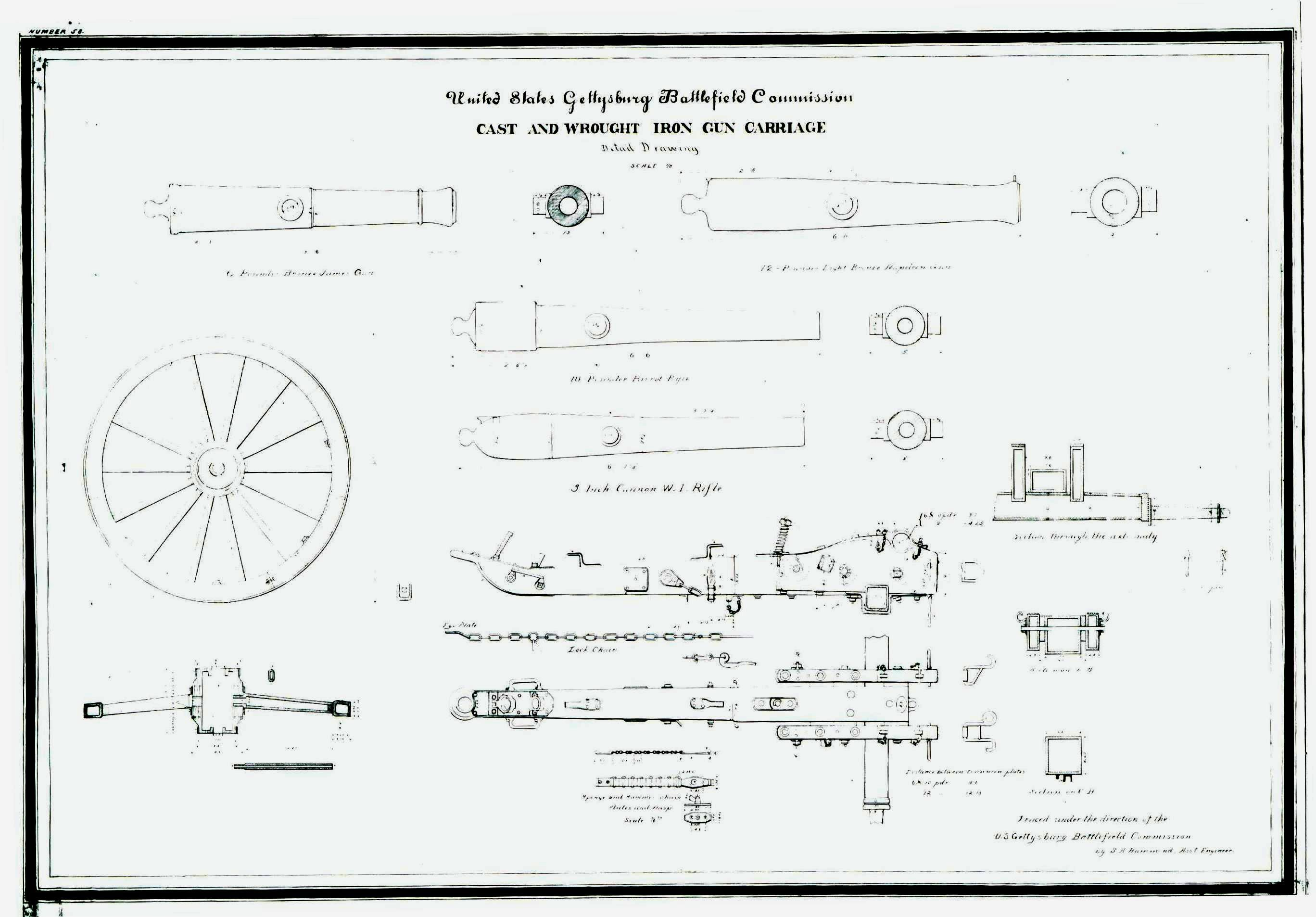 Image Result For Civil War Cannon Parts