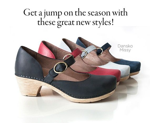 cca170a00b Which color of the Dansko Missy clogs will be your favorite this season