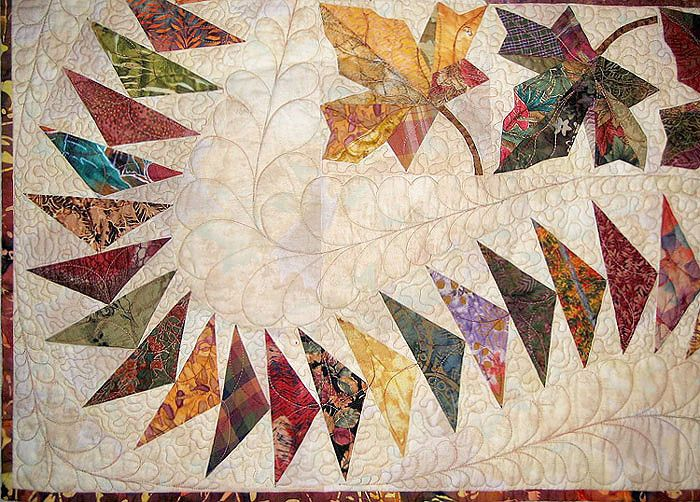 Curved Flying Geese Quilts Flying Geese Quilt Flying