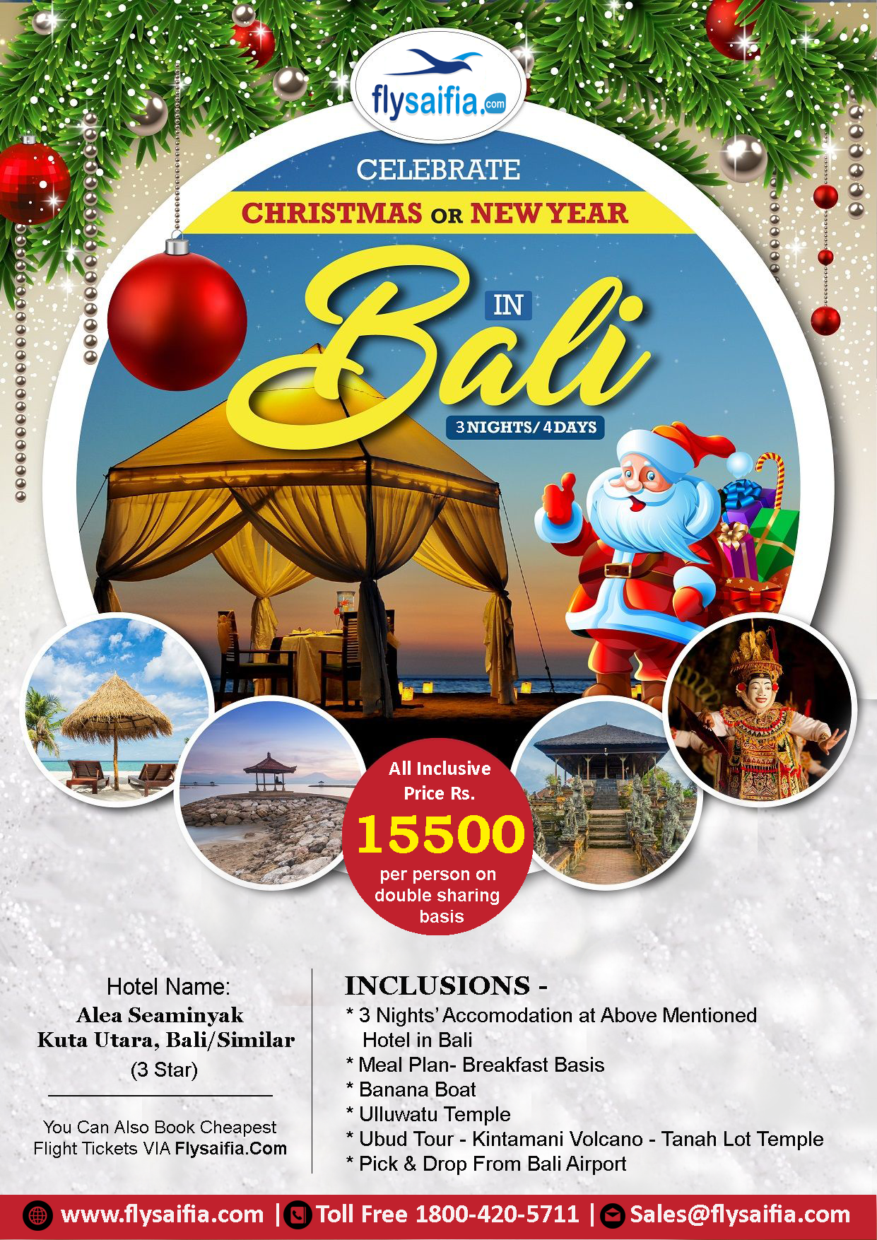#Bali_Travel_Package #Package_Cost: 15499 Per Person