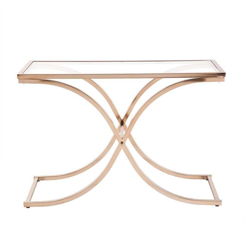 Harper blvd ambrosia champagne brass console sofa table by harper harper blvd ambrosia champagne brass console sofa table by harper blvd geotapseo Choice Image