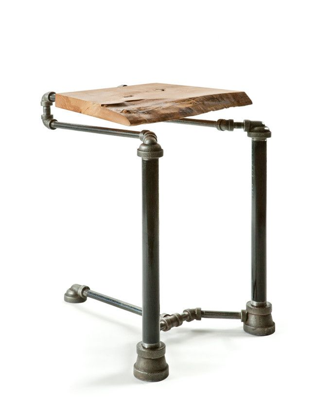 steel pipe furniture. steampunk furniture made from reclaimed plumbing pipes steel pipe