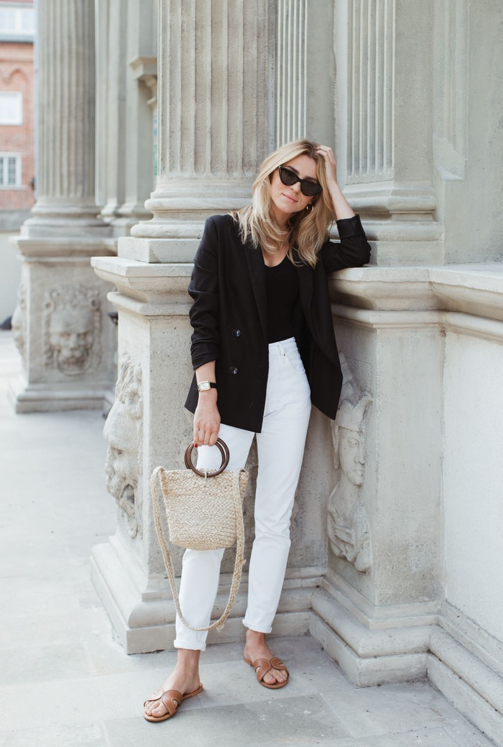 Pin By Marta C On Petite Fall 2 Summer Work Outfits Work Outfit Blazer Outfits