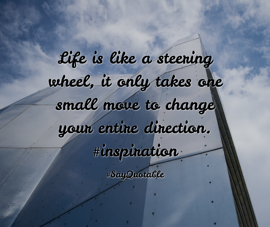 Facebook Timeline Cover Life Quotes: Quotes About Life Is Like A Steering Wheel, It Only Takes