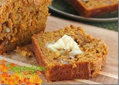 Snickerdoodle Pumpkin Walnut Bread!!!