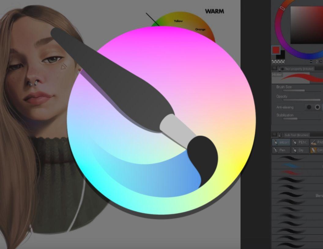 digital art tutorials krita
