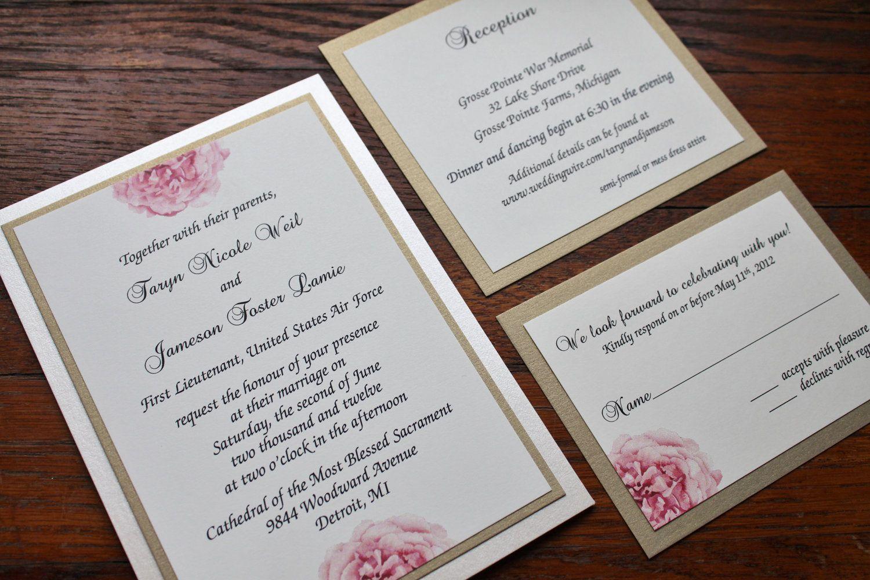 A Pocket Full of Peonies - Romantic Garden Wedding ...
