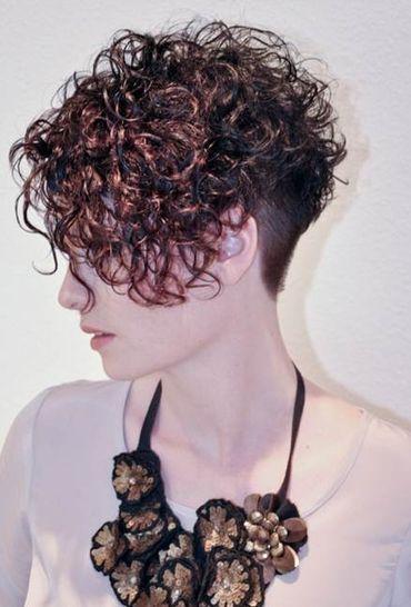 Pin En Curly