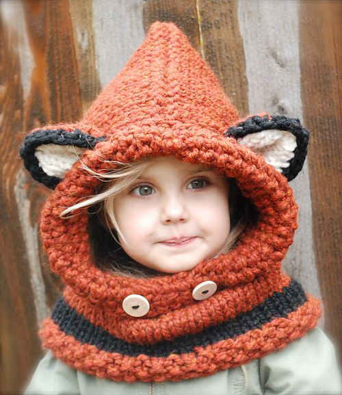 Comes in adult sizes too! Can be purchased at http://www.ravelry.com/patterns/library/the-failynn-fox-cowl