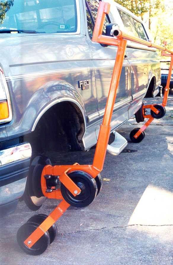 EASY TILTER Car Truck Restoration Tool Auto Rotisserie in  Motors, Parts & Accessories, Automotive Tools