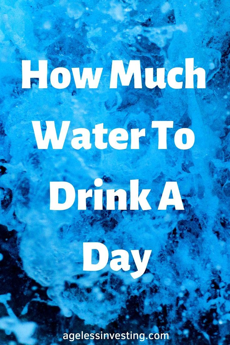 How much water should i drink a day water benefits