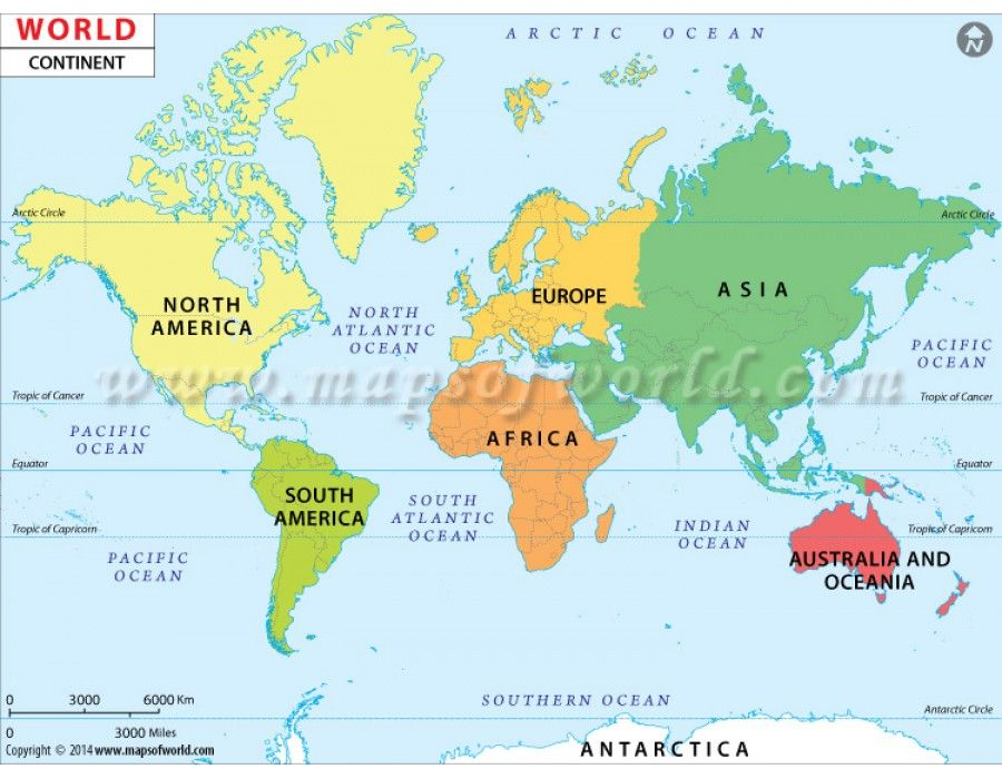 buy world continent map continent map of the world world map pinterest. Black Bedroom Furniture Sets. Home Design Ideas