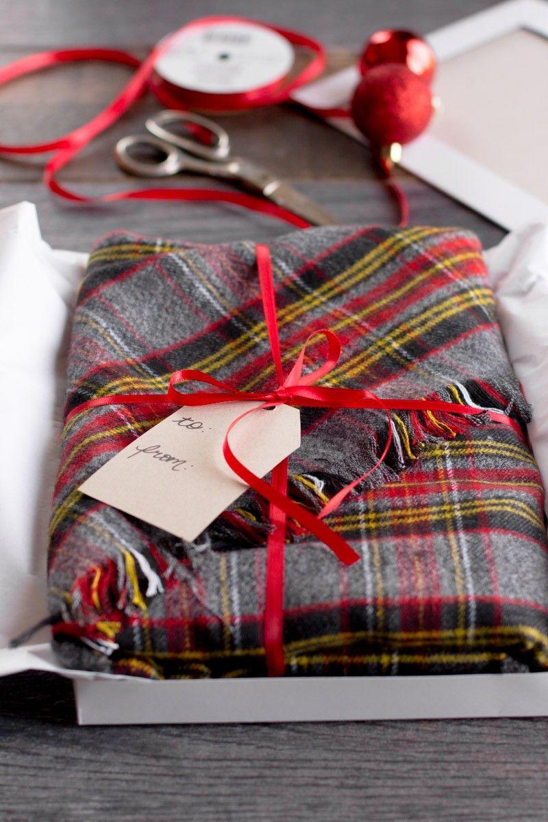 Diy No Sew Flannel Blanket Scarf Sewing Diy Blanket