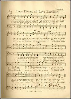 Hymn Love Divine All Loves Excelling Hymn Music Praise Songs