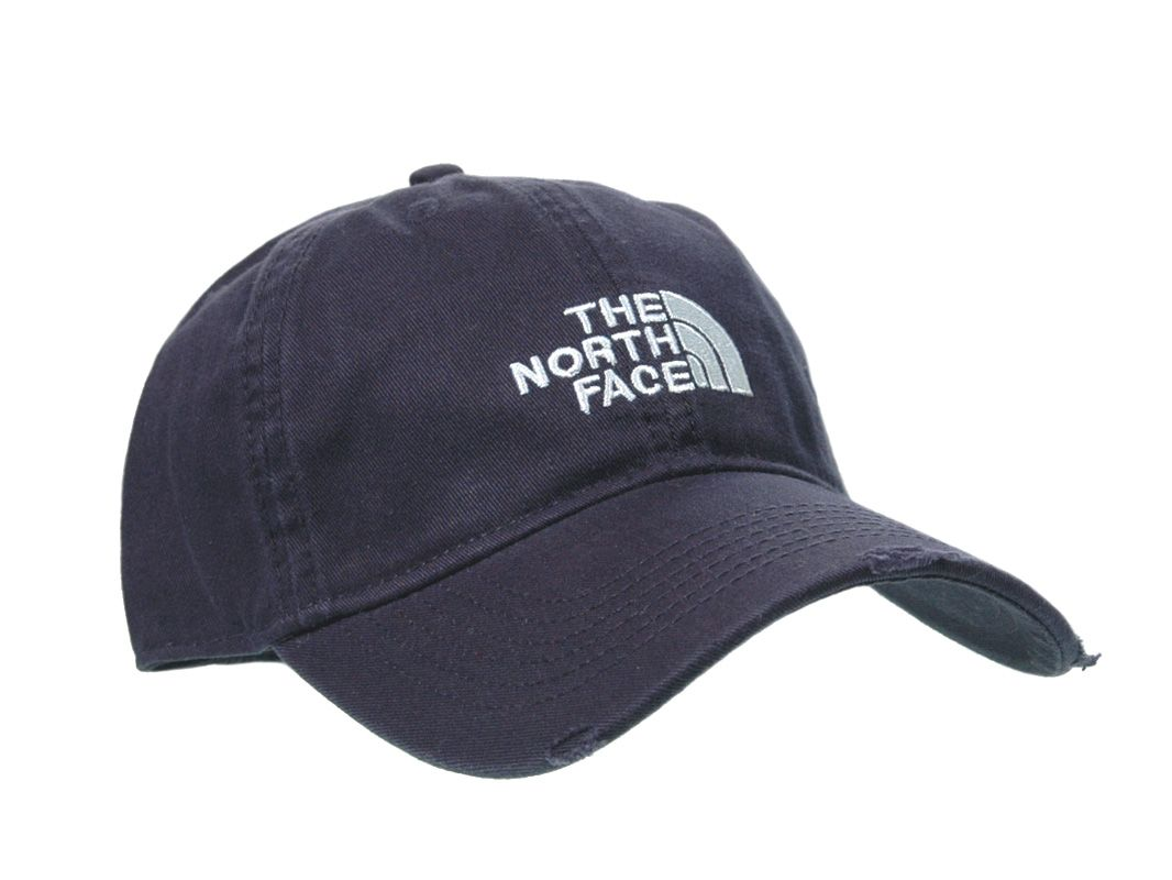 The North Face Distress Baseball Cap Navy B02  177ef35d590