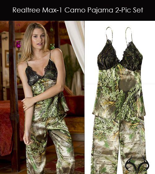ff7306952c Realtree Max-1 Camo Pajama 2-pc Set  camolingerie