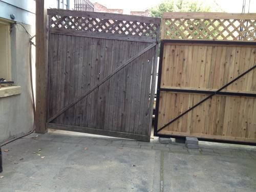 Dura Gate 12 Ft Double Fence Gate Frame Kit 007 1403 The Home Depot Fence Gate Gate Kit Gate