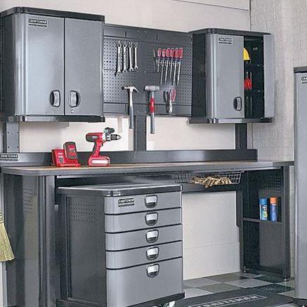 Crasftman Work Bench Craftsman Professional Garage Storage 8