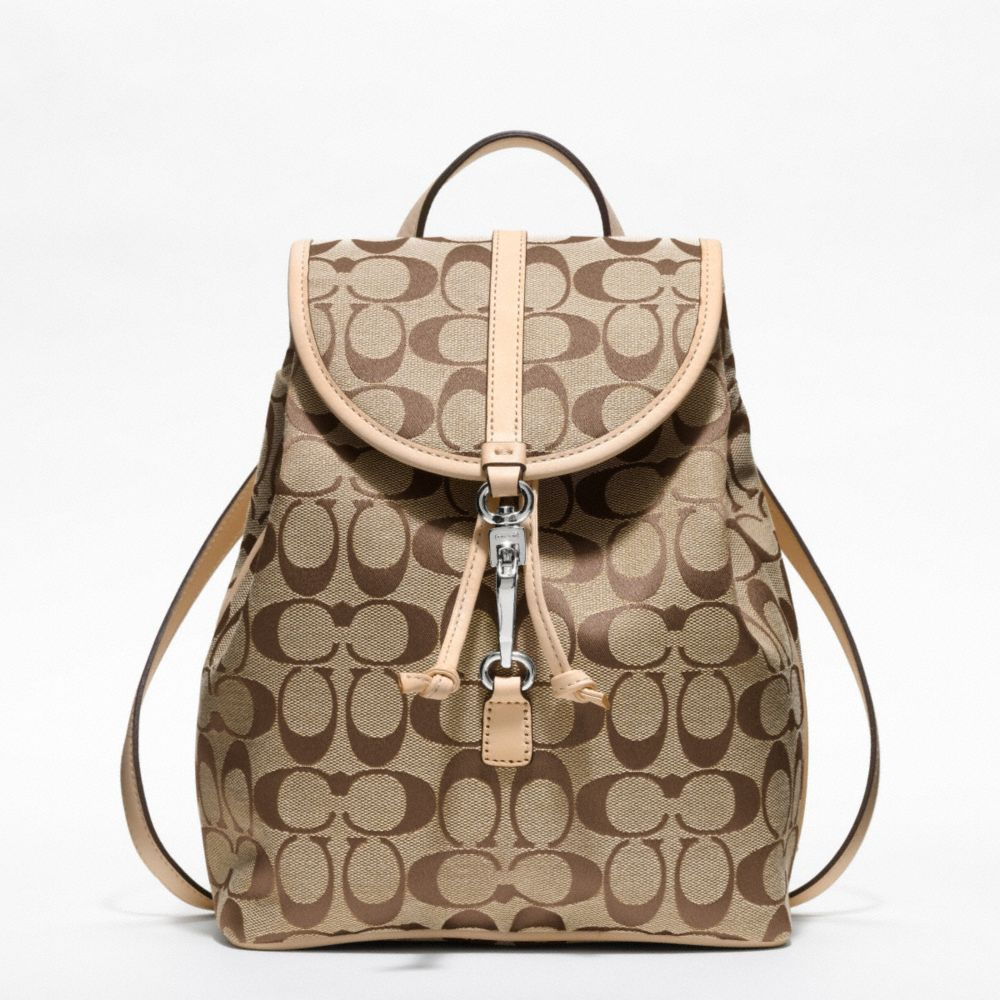 d7a3ddbd7f80 The Coach Classic Small Backpack In Signature Fabric from Coach  258 ...