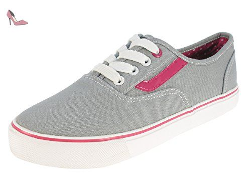 Casual, Chaussures de Fitness Femme, Gris (Grey), 37 EUBeppi