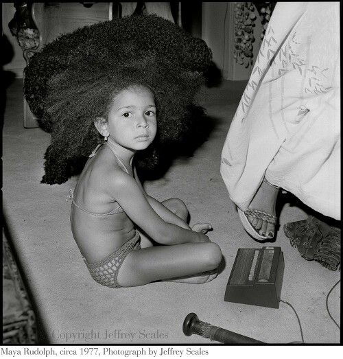 May a Rudolph (1977) photo by Jeffrey Scales. Her hair is everything!
