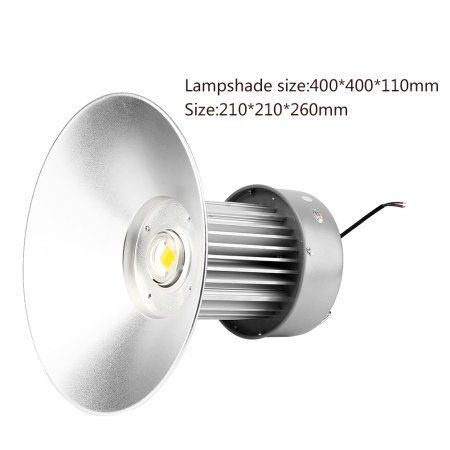 Professional 100w Led High Bay Warehouse Light Lamp Bright 250w Equivalent Silver Lamp Light Lamp Led