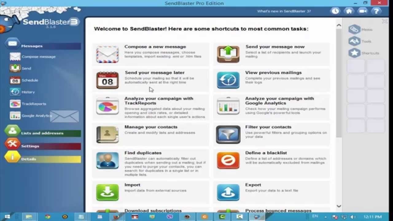 SendBlaster pro3 Email : %100 Free Full Download+Crack