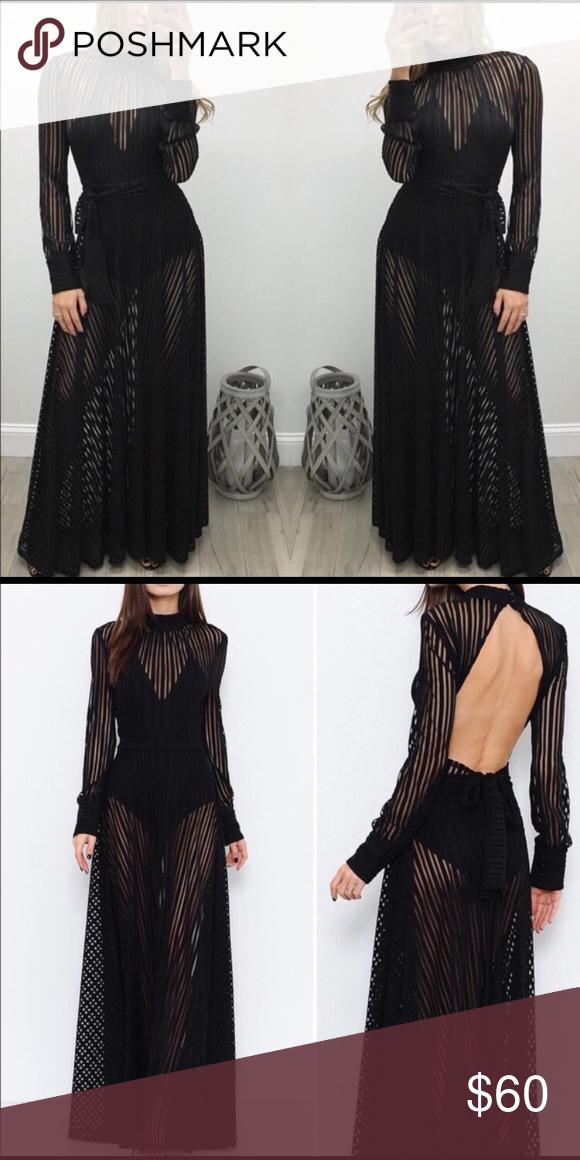 Stunning Black L Atiste By Amy Dress Nwt My Posh